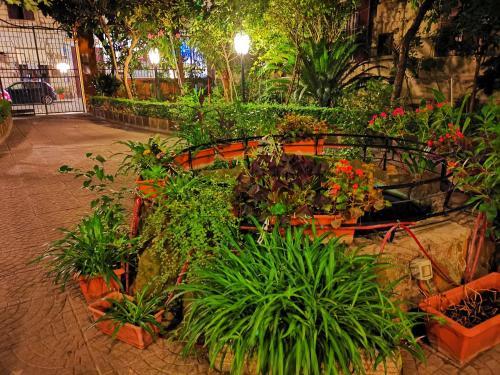 Een tuin van Bye Rome Guesthouse