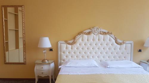 Cama o camas de una habitación en Ca' Bragadin e Carabba