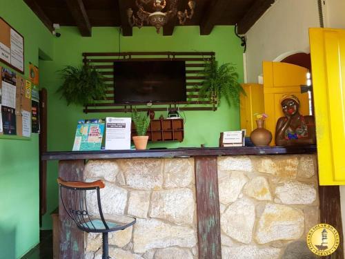 The lobby or reception area at Pousada Solar do Algarve