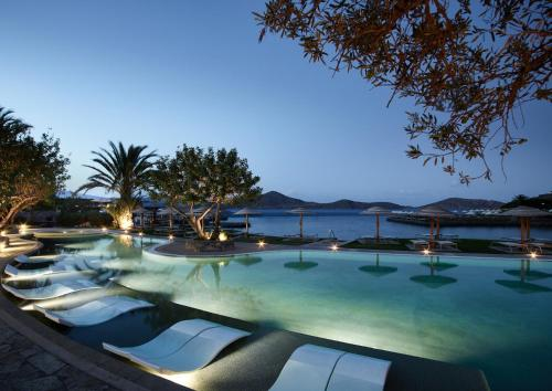 The swimming pool at or near Porto Elounda Golf & Spa Resort, Six Senses Spa