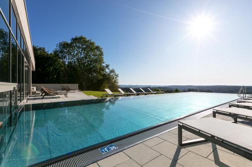 Der Swimmingpool an oder in der Nähe von Fritz Lauterbad