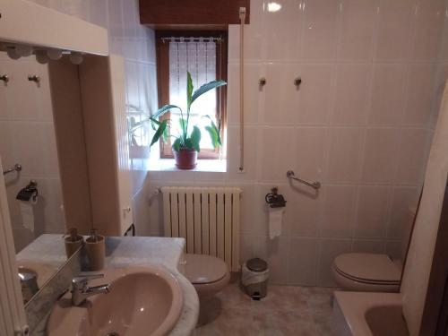 Un baño de Casa Ayabe