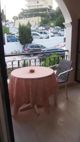 Μπαλκόνι ή βεράντα στο Vicky's Apartments
