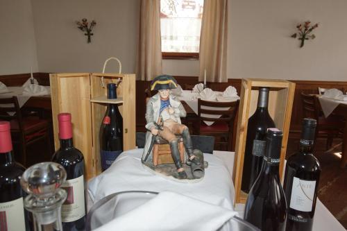 Getränke in der Unterkunft Ristorante Napoleone