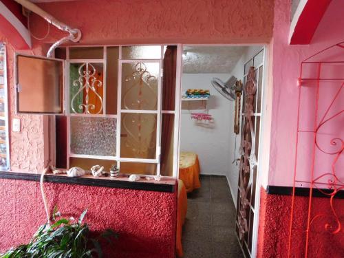 Salle de bains dans l'établissement Casa Campo Gladys Suarez
