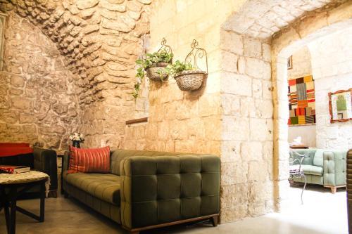 אזור ישיבה ב-Al-Hakim Boutique Hotel Old Town Nazareth