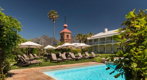 The swimming pool at or close to Dock House Boutique Hotel and Spa