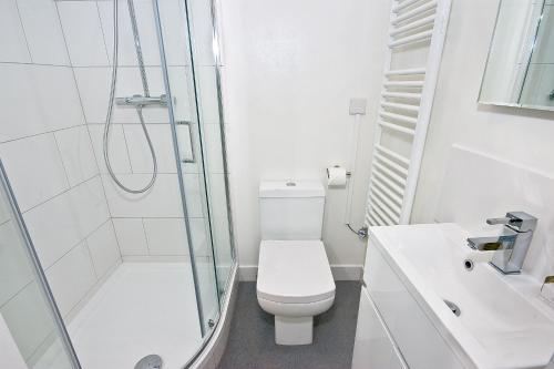A bathroom at OGS - Studio 1