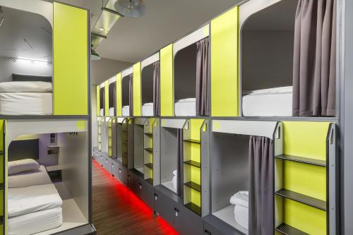A bunk bed or bunk beds in a room at Kick Ass Grassmarket (18+)