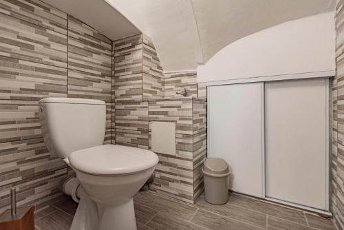 Salle de bains dans l'établissement Gîte de la Liberté