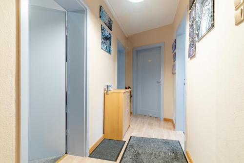 Postel nebo postele na pokoji v ubytování 6420 City-Privatapartment