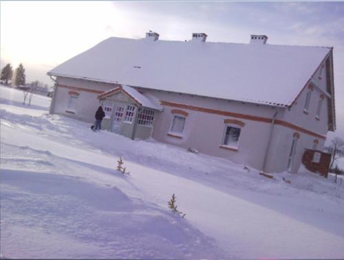 Obiekt Fajne Miejsce zimą