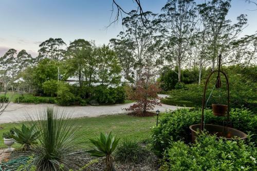 A garden outside Anduramba Homestead B&B