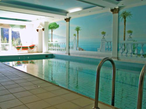 The swimming pool at or near Hotel Rückert