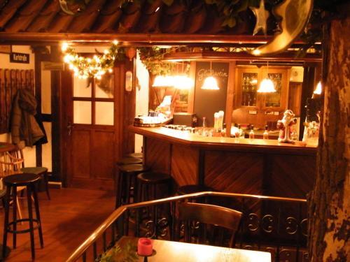 Ein Restaurant oder anderes Speiselokal in der Unterkunft Gasthaus & Pension St.Peter