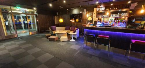 Loungen eller baren på Samantta Hotel & Restaurant