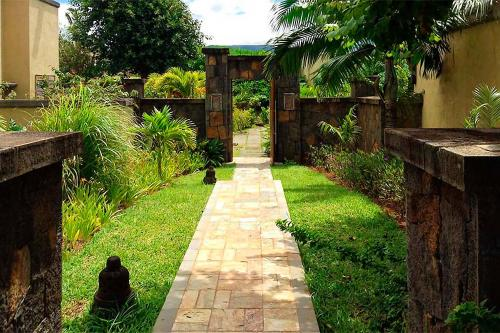 A garden outside Villa Laguna by Oazure 1 - 8 persons