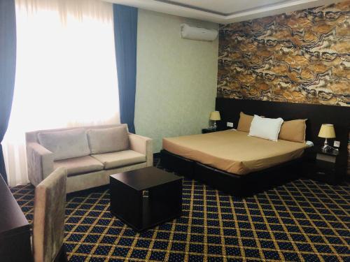 Kristal Hotelにあるベッド