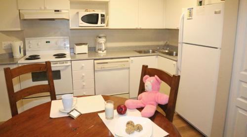 Кухня или мини-кухня в Times Square Suites
