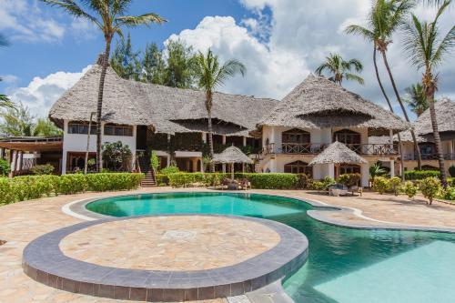 The swimming pool at or near AHG Waridi Beach Resort & SPA
