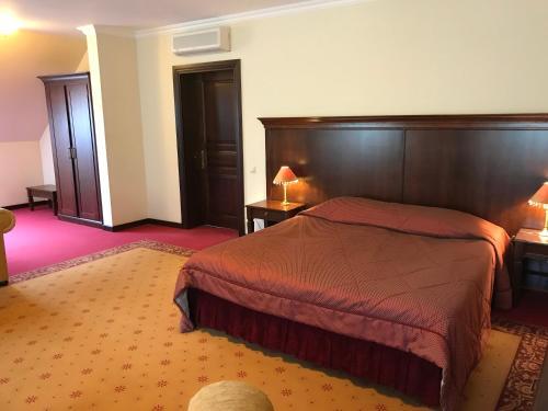 Lova arba lovos apgyvendinimo įstaigoje Guest House Pirklių Namai