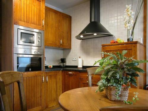 Una cocina o zona de cocina en Apartamentos Pistolo