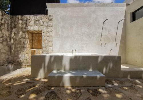 Poolen vid eller i närheten av Coqui Coqui Papholchac Coba Residence & Spa