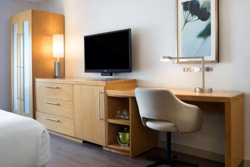 A television and/or entertainment center at Hyatt Place Austin Downtown
