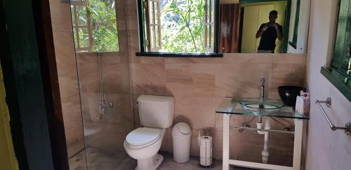 A bathroom at Silver Hill Select
