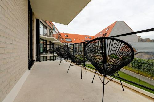 A balcony or terrace at Jef