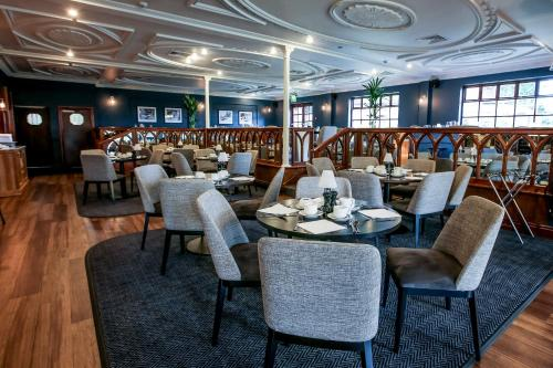 A restaurant or other place to eat at Bredbury Hall Hotel