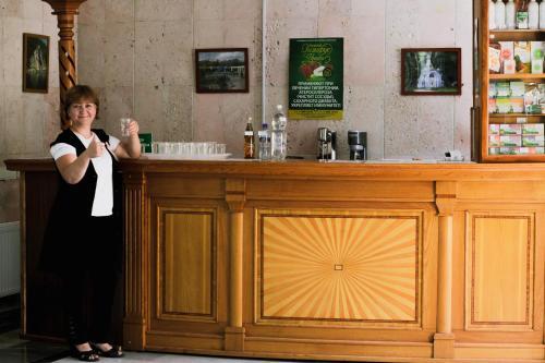 Лобби или стойка регистрации в Санаторий «Русь»