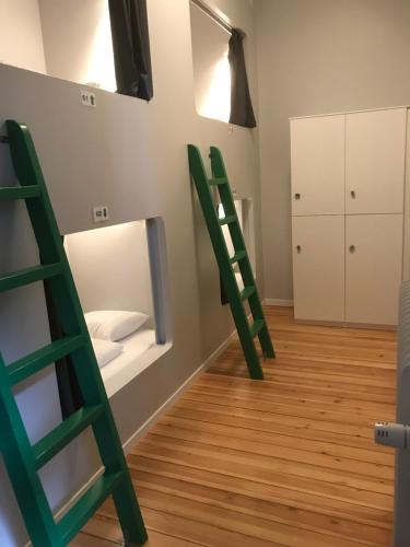 A bunk bed or bunk beds in a room at Winstrup Hostel