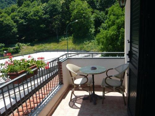 Balcone o terrazza di Soggiorno Boccuti