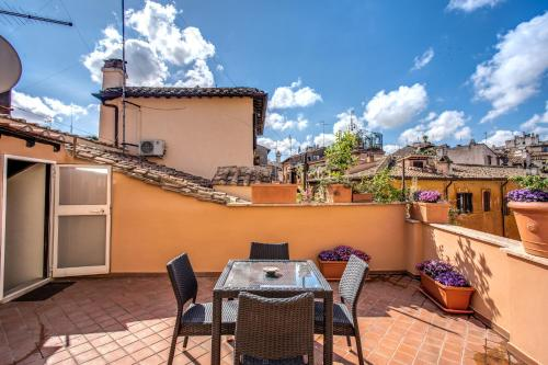 A balcony or terrace at Holiday Vip Navona Suite