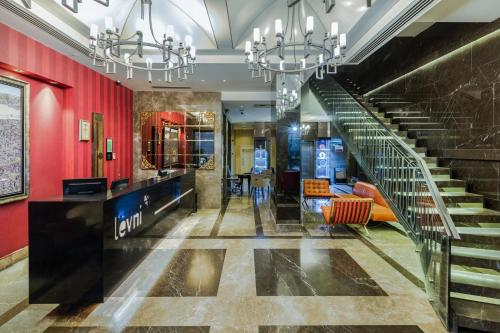 The lobby or reception area at Levni Hotel & SPA - Special Category