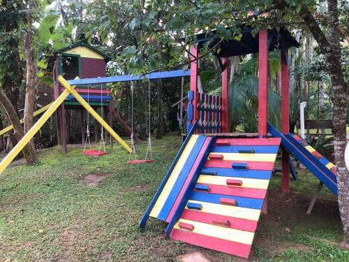 Children's play area at Pousada Portal do Vigolo