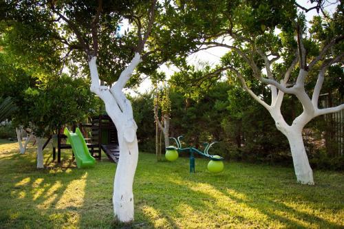 Ο χώρος παιχνιδιού για παιδιά στο Ακρογιάλι Ξενοδοχείο & Βίλλα