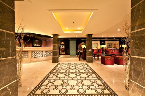 The lobby or reception area at Steigenberger Legacy Nile Cruise - Every Monday 07 & 04 Nights from Luxor - Every Friday 03 Nights from Aswan