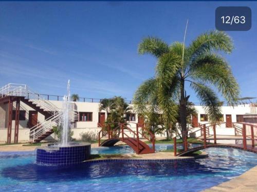 A piscina localizada em Condomínio Brisas do Amor ou nos arredores