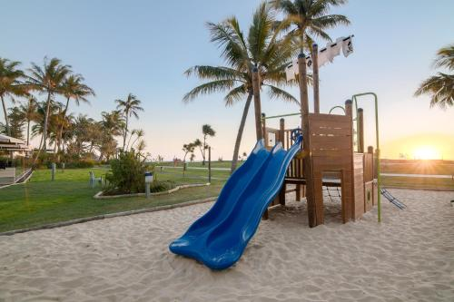 Children's play area at Tangalooma Island Resort
