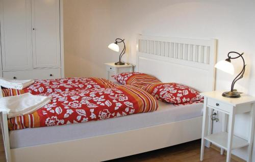 A bed or beds in a room at Holiday home Holubice