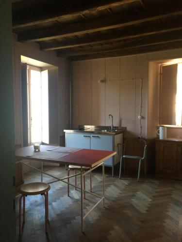 A kitchen or kitchenette at Alpe del Lupo