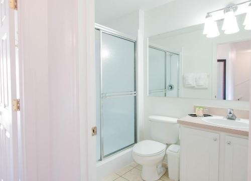 A bathroom at Hapimag Orlando at Lake Berkley
