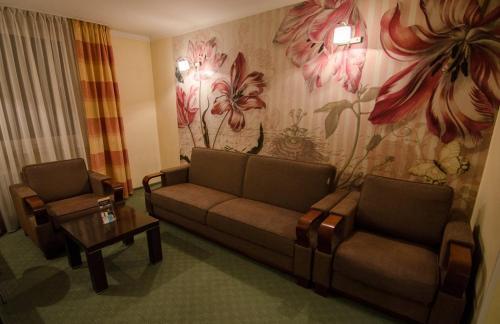 Część wypoczynkowa w obiekcie Hotel Kamena
