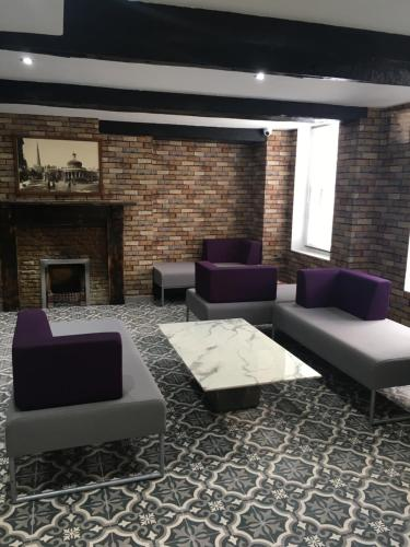A seating area at The Town Hotel