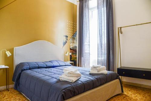 Letto o letti in una camera di San Pietro Suite Rome