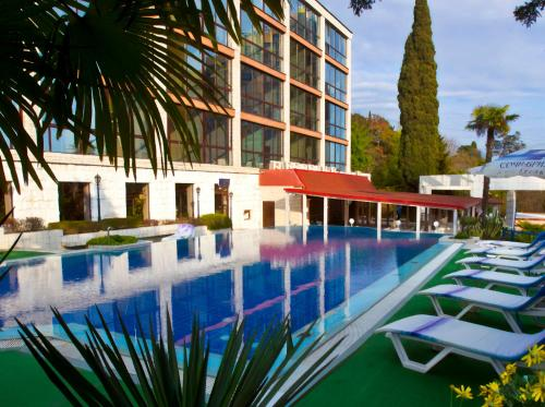 The swimming pool at or near Sochi-Breeze Spa Hotel