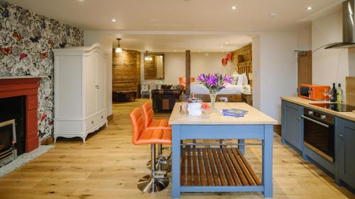 A kitchen or kitchenette at Grange Boutique Hotel