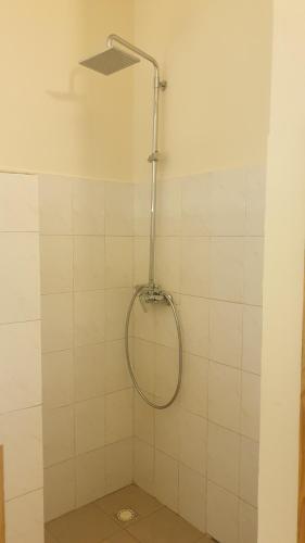 Salle de bains dans l'établissement Diamarek Hotel Sur La Plage